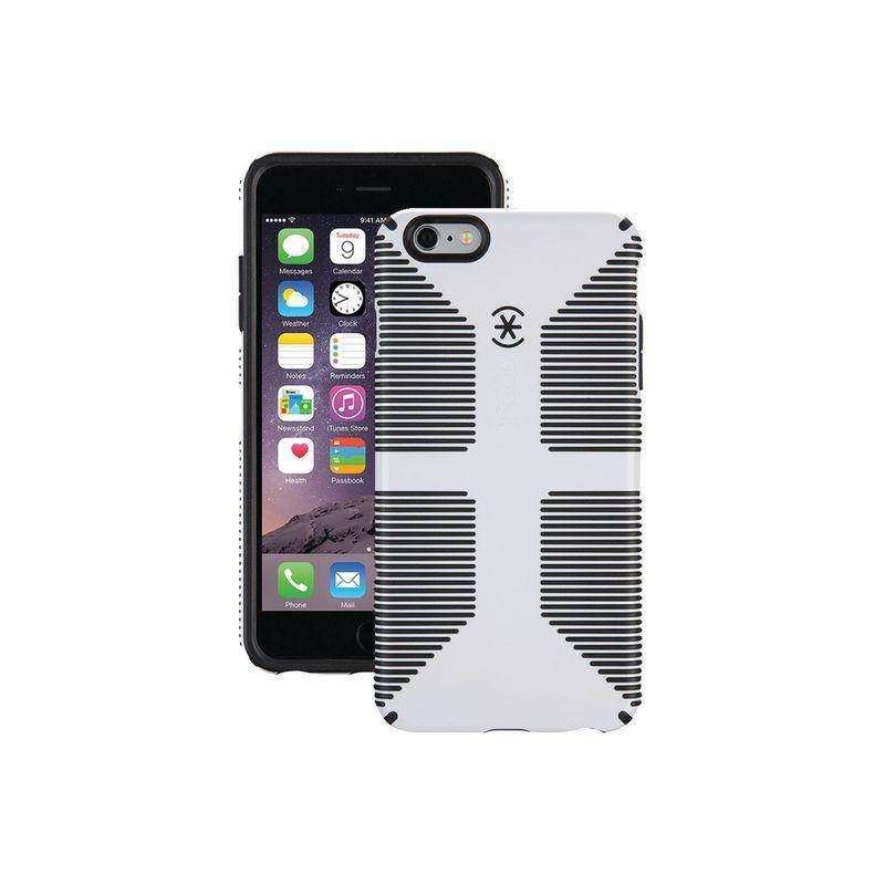 スペック メンズ PC・モバイルギア アクセサリー IPhone 6 Plus/6s Plus Candyshell Grip Case White/Black