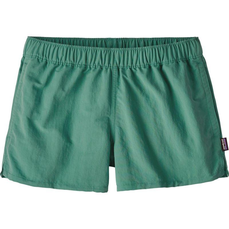 パタゴニア レディース カジュアルパンツ ボトムス Womens Barely Baggies Shorts XL - Beryl Green - Discontinued