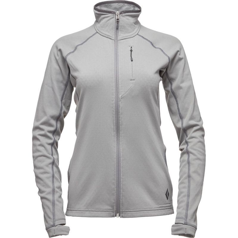 ブラックダイヤモンド レディース ジャケット・ブルゾン アウター Womens Coefficient Jacket M - Nickel