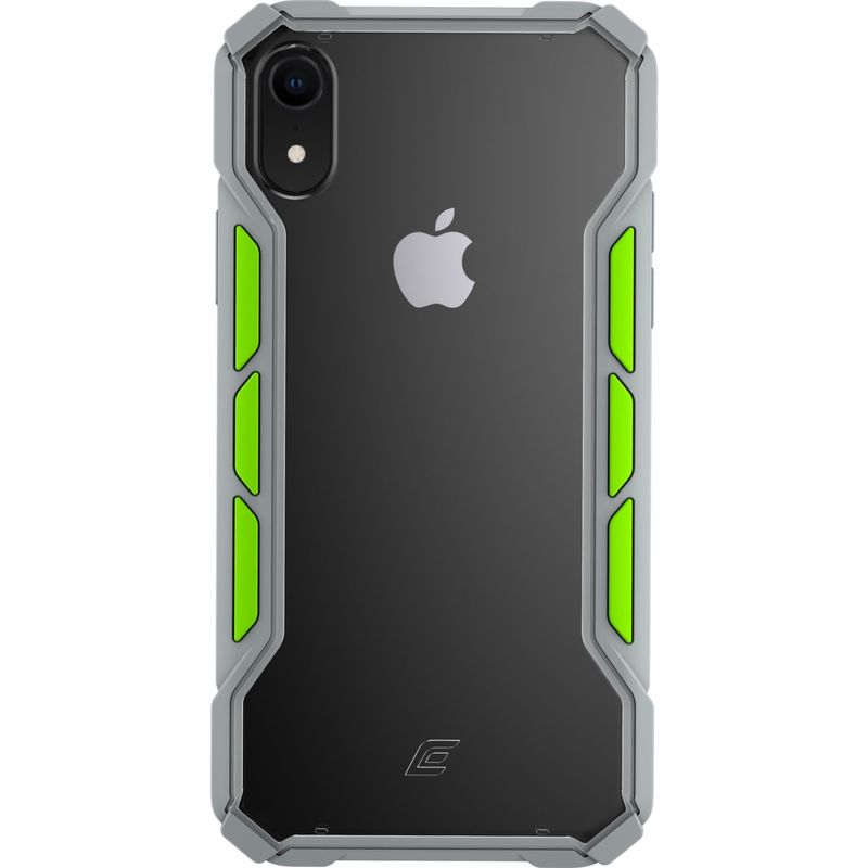 STMグッズ メンズ PC・モバイルギア アクセサリー Element Case Rally Case for iPhone XR Light Grey/Lime