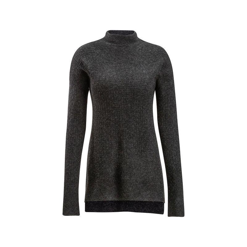 エクスオフィシオ レディース ニット・セーター アウター Womens Pontedera Funnel Neck Shirt M - Charcoal Heather