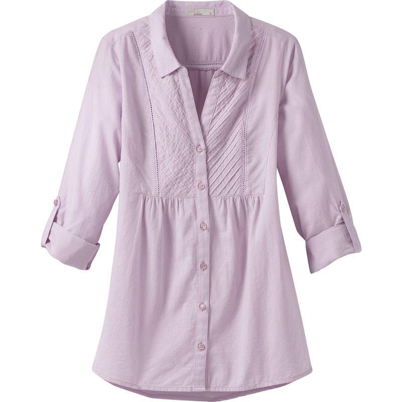 プラーナ レディース シャツ トップス Katya L/S XS - Bleached Lavender