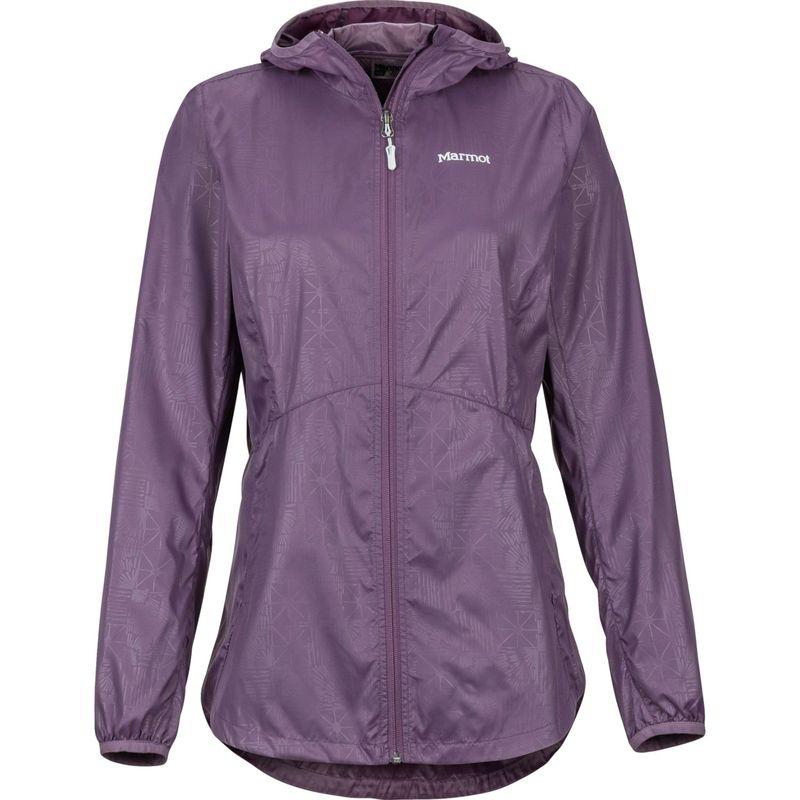 マーモット レディース ジャケット・ブルゾン アウター Womens Trail Wind Hoody XS - Vintage Violet