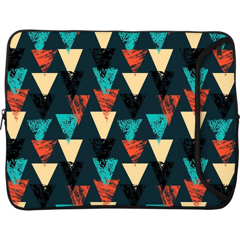 デザイナースリーブス メンズ スーツケース バッグ 14 Designer Laptop Sleeve Bold Tribal Triangles
