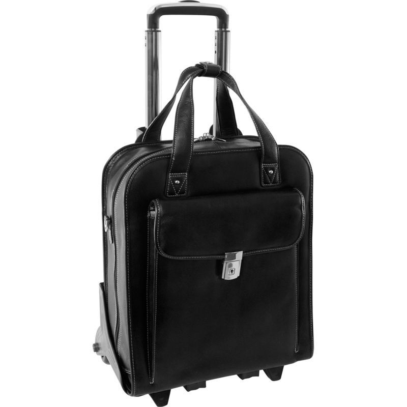 シアモッド メンズ スーツケース バッグ Vernazza Collection 15.6 Vertical Wheeled Laptop Case Black