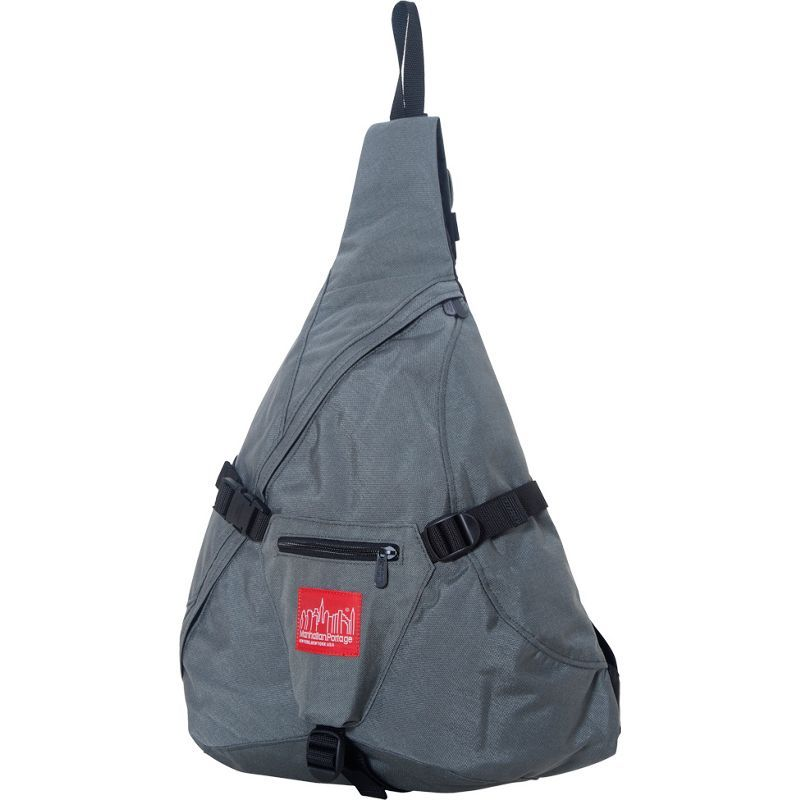 マンハッタンポーテージ メンズ ショルダーバッグ バッグ J-Bag (Large) Gray