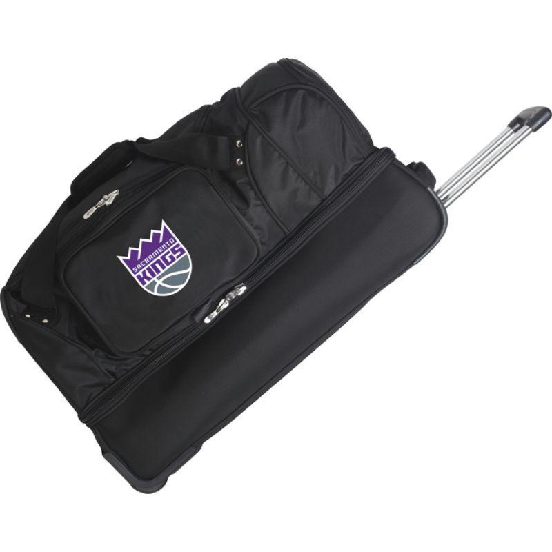 デンコスポーツ メンズ スーツケース バッグ NBA 27 Drop Bottom Wheeled Duffel Bag Sacramento Kings