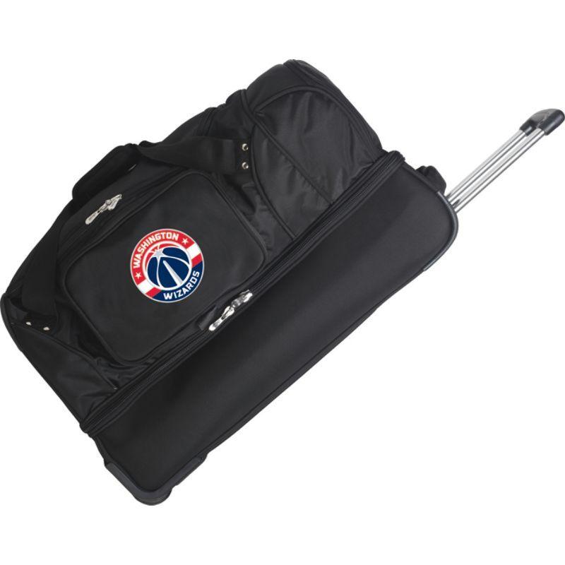デンコスポーツ メンズ スーツケース バッグ NBA 27 Drop Bottom Wheeled Duffel Bag Washington Wizards