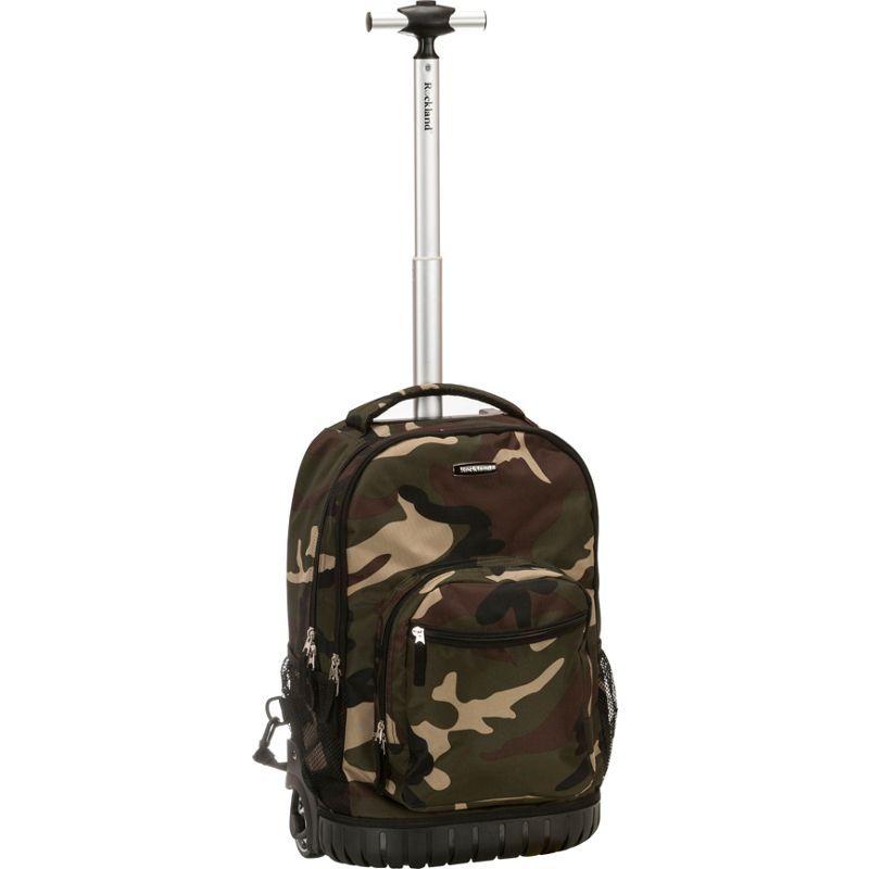 ロックランド メンズ バックパック・リュックサック バッグ Sedan 19 Rolling Backpack Camouflage Green