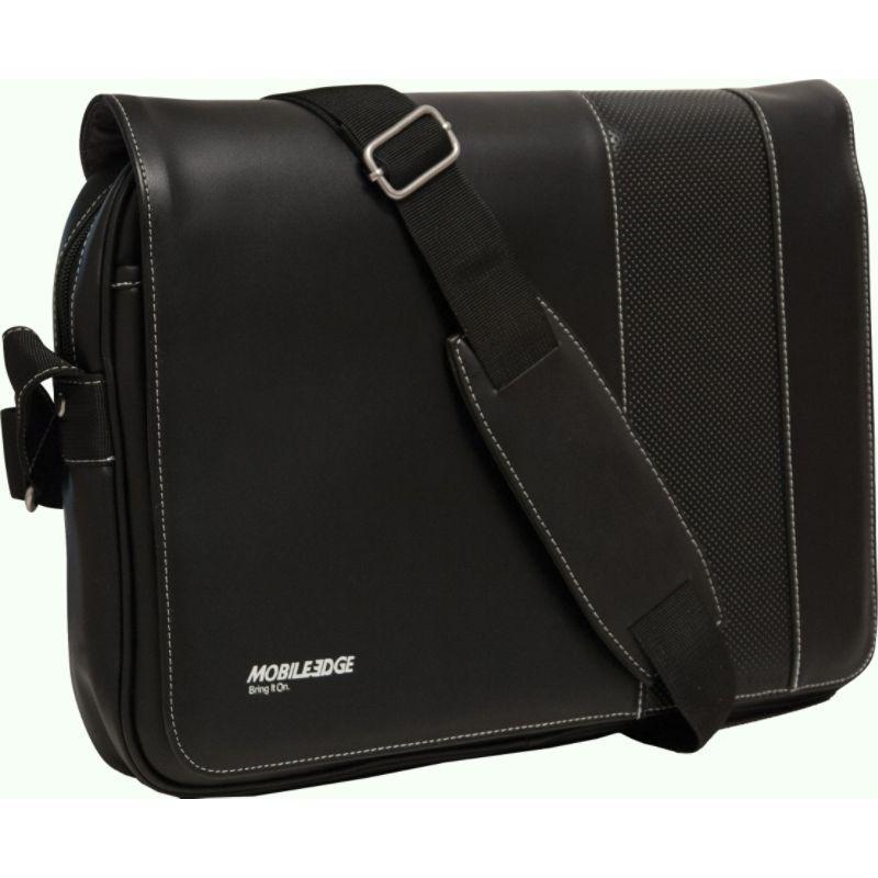 モバイルエッジ メンズ スーツケース バッグ Slimline Ultrabook Messenger- 14.1 PC / 13MacBooks Black/White