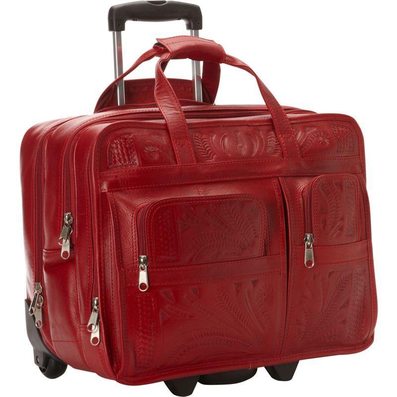 ロピンウェスト メンズ スーツケース バッグ Roller Briefcase Red