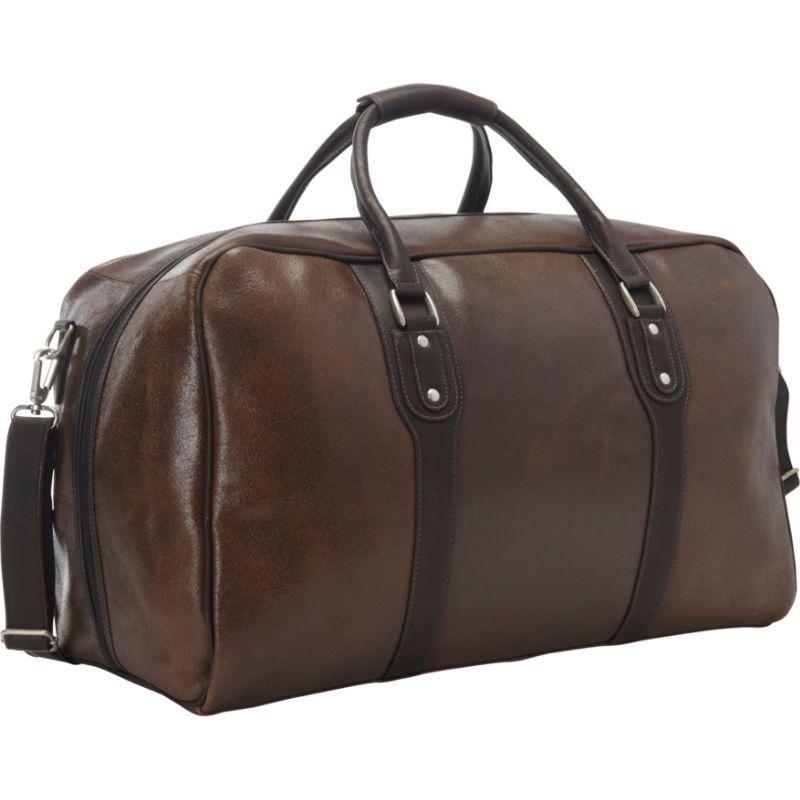 ピエール メンズ スーツケース バッグ Vintage Leather Weekender Duffel Vintage Brown