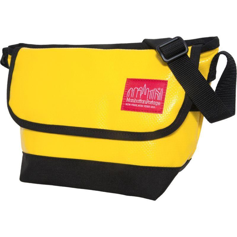 マンハッタンポーテージ メンズ ショルダーバッグ バッグ Vinyl Messenger Bag (XXS) VER3 Yellow