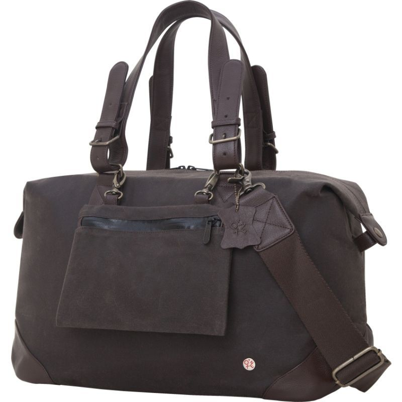 トーケン メンズ スーツケース バッグ Lafayette Duffel Bag (M) Dark Brown