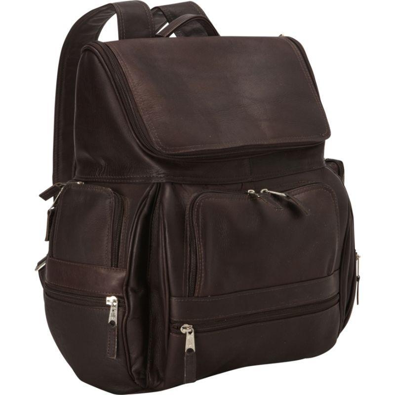 ラティコレザーズ メンズ バックパック・リュックサック バッグ Explorer Laptop Backpack Caf