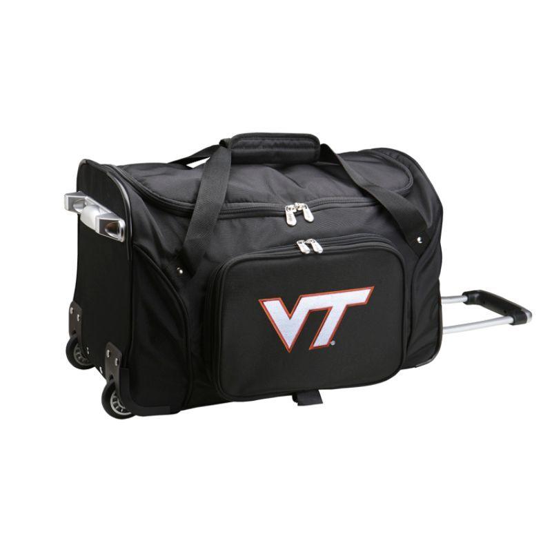 デンコスポーツ メンズ スーツケース バッグ NCAA 22 Rolling Duffel Virginia Tech Hokies