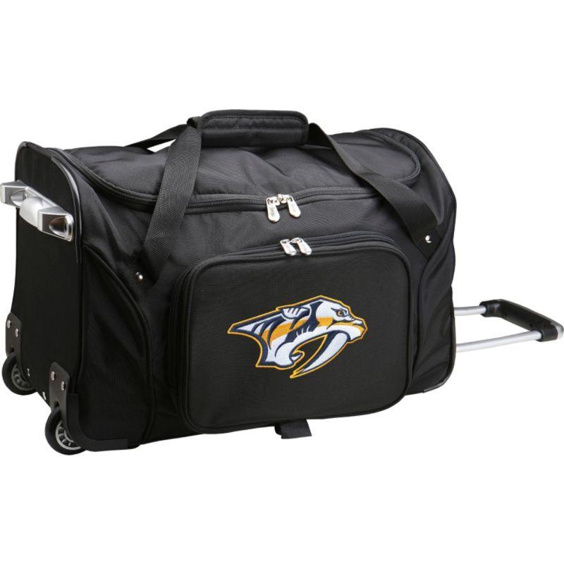デンコスポーツ メンズ スーツケース バッグ NHL 22 Rolling Duffel Nashville Predators