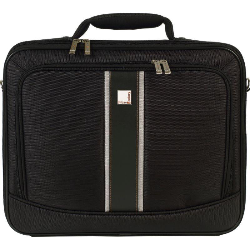 アーバンファクトリー メンズ スーツケース バッグ Mission Case 18 Black