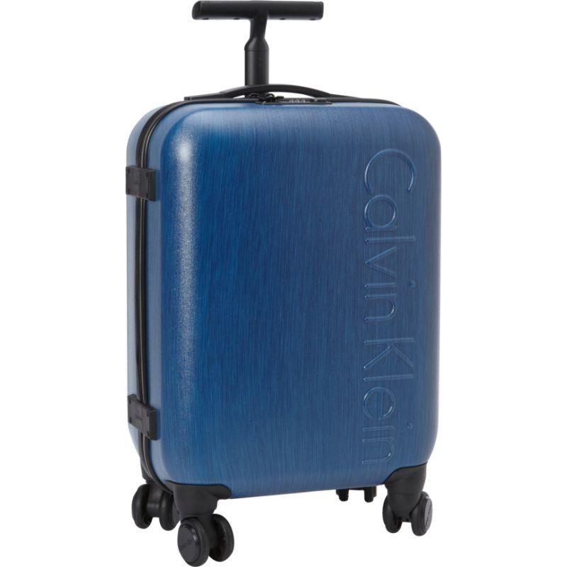 """カルバンクライン メンズ スーツケース バッグ Southampton 2.0 20"""" Carry-On Hardside Spinner Blue"""