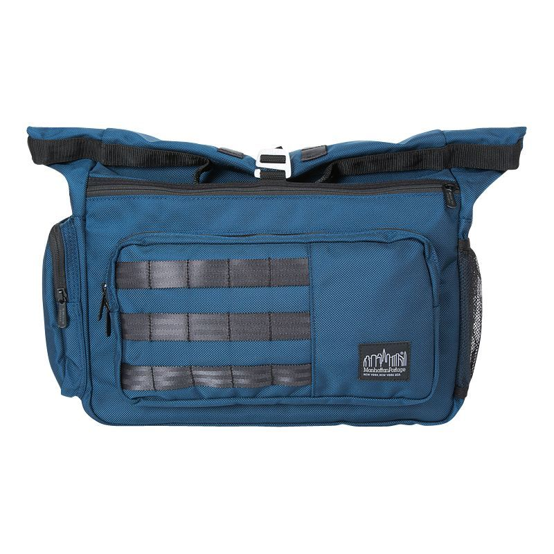 マンハッタンポーテージ メンズ ショルダーバッグ バッグ Standard Bag Navy