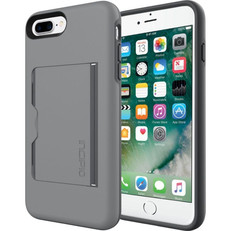 インシピオ メンズ PC・モバイルギア アクセサリー Stowaway for iPhone 7 Plus Gray/Charcoal(GYC)