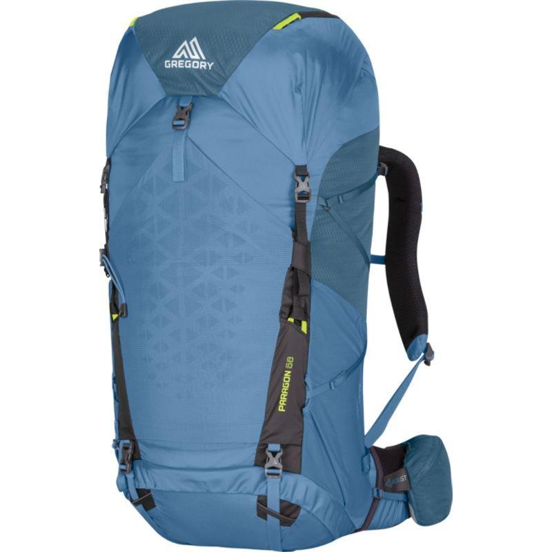 グレゴリー メンズ バックパック・リュックサック バッグ Paragon 68 Hiking Backpack Omega Blue - Medium/Large
