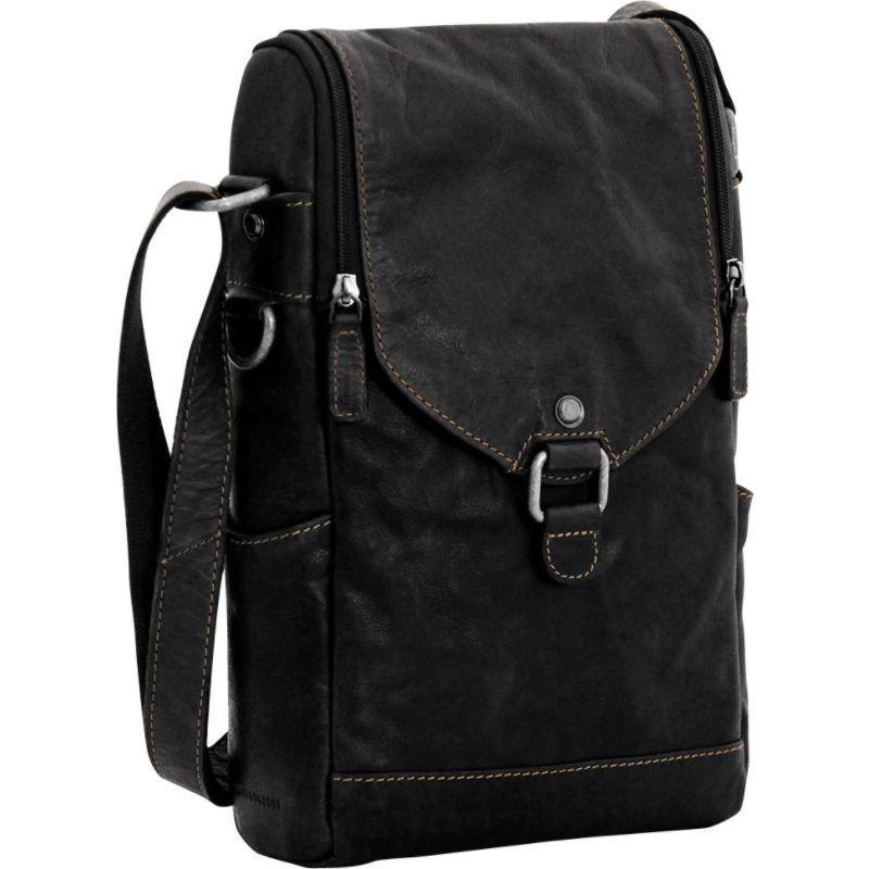 ジャックジョージス メンズ ボディバッグ・ウエストポーチ バッグ Voyager Crossbody/Wine Bag Black