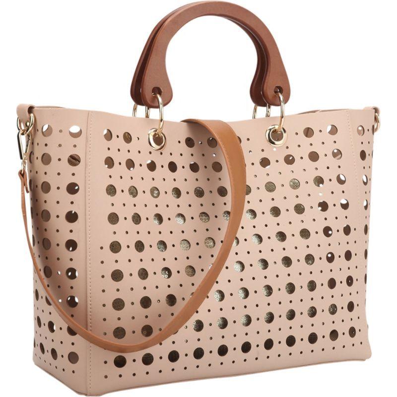 ダセイン メンズ トートバッグ バッグ 2 in 1 Fashion Tote Bag with Cut Out Design Pink