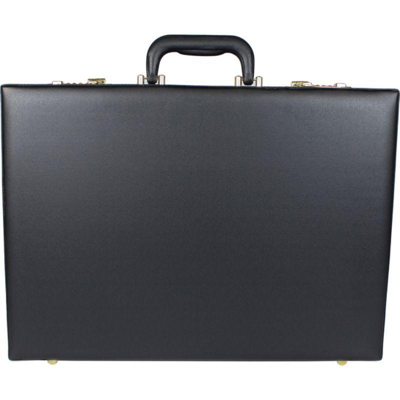 ワールドトラベラー メンズ スーツケース バッグ London Executive Business Attache Briefcase Black
