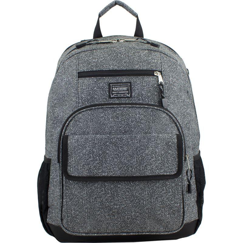 イーストポート メンズ バックパック・リュックサック バッグ Tech Backpack Gray Static Print