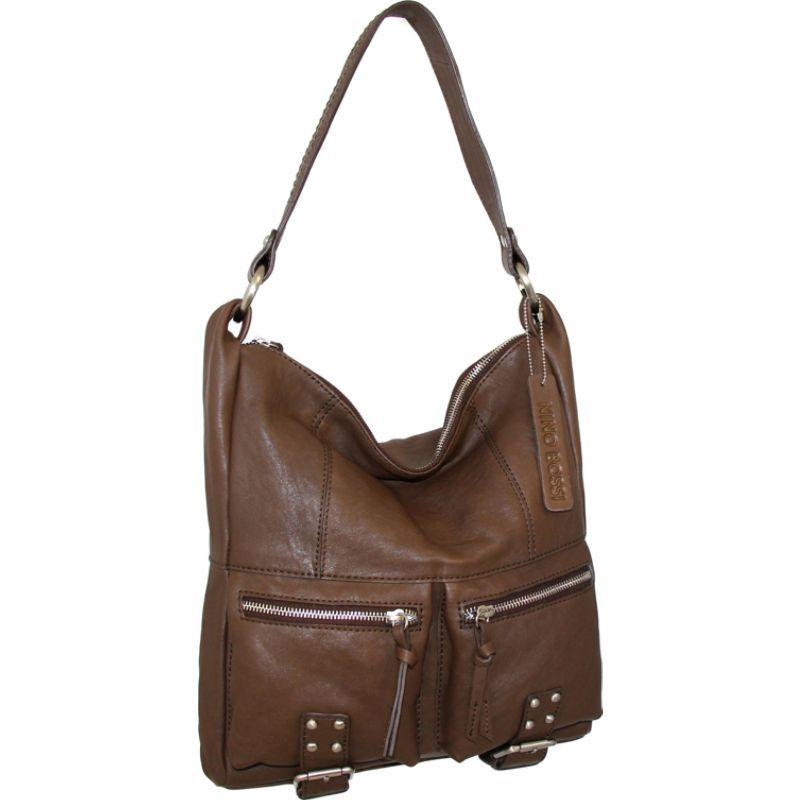 ニノボッシ メンズ ショルダーバッグ バッグ Amelia Shoulder Bag Brown
