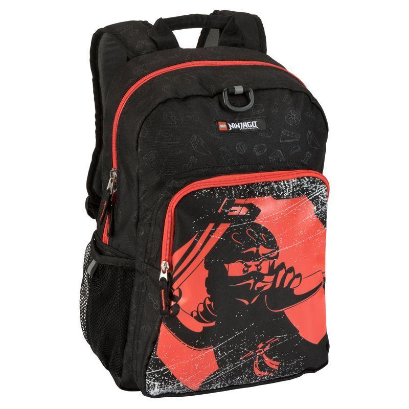 レゴ メンズ バックパック・リュックサック バッグ NINJAGO Red Ninja Backpack & Lunch Black