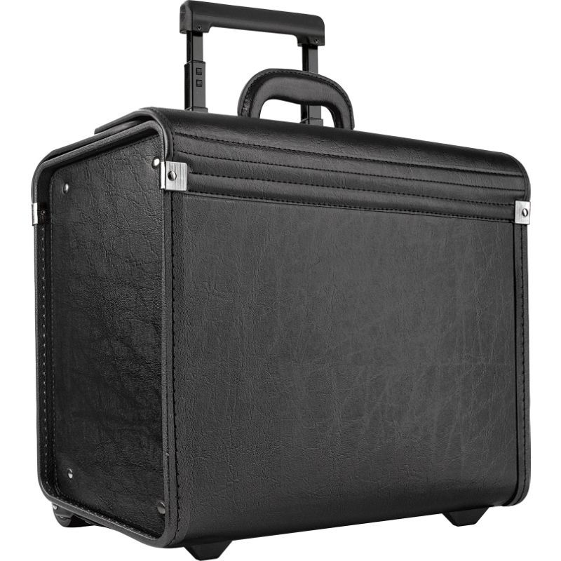 ソロ メンズ スーツケース バッグ Classic Rolling Catalog Case, Black with dual combination locks Black