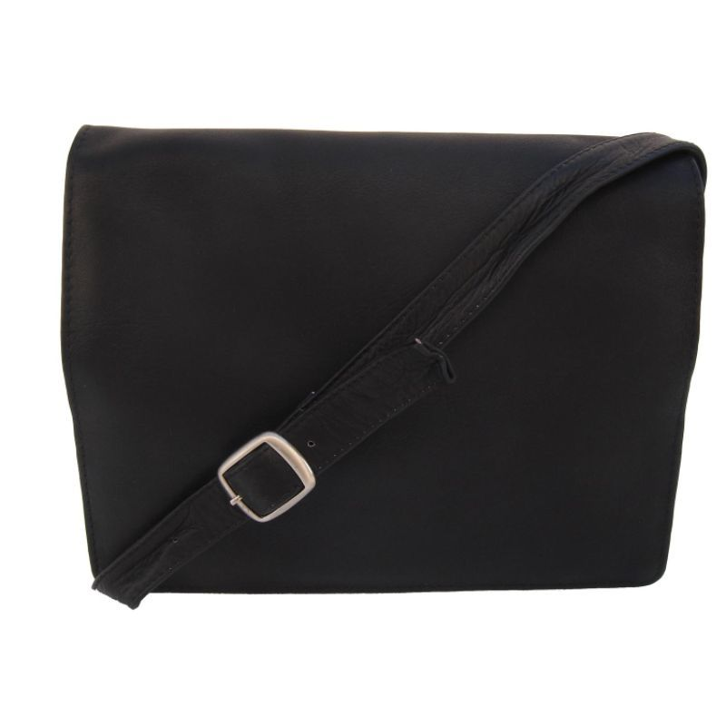 ピエール メンズ ショルダーバッグ バッグ Small Handbag with Organizer Black
