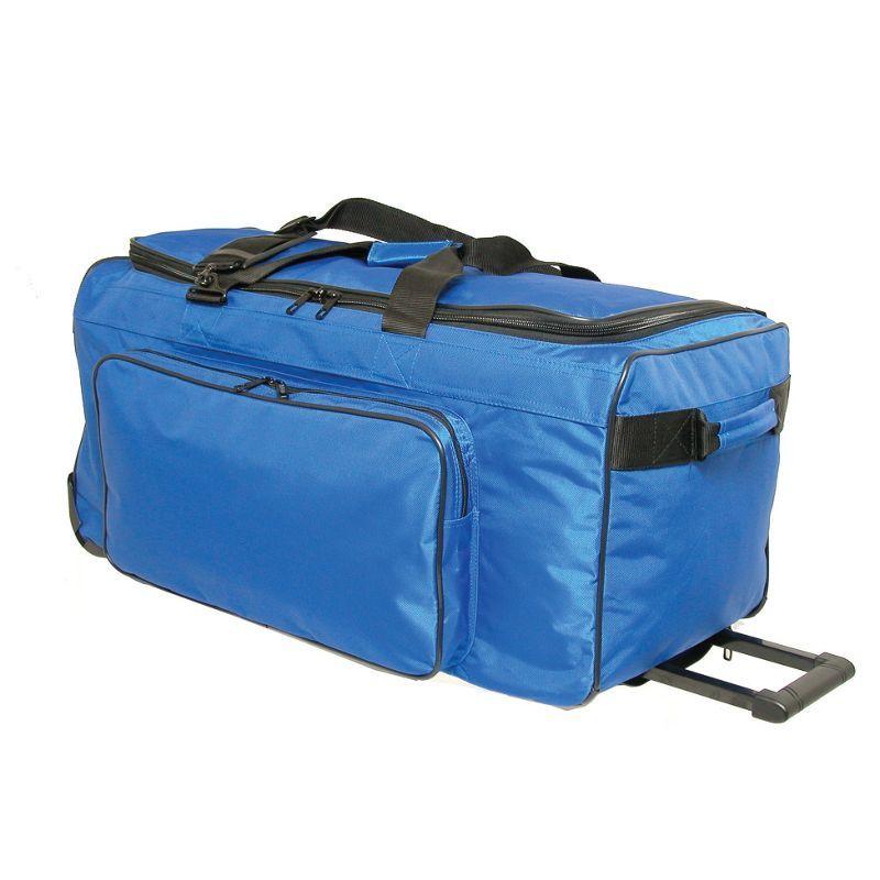 ネットパック メンズ スーツケース バッグ Big P 25 Wheeled Duffel Blue