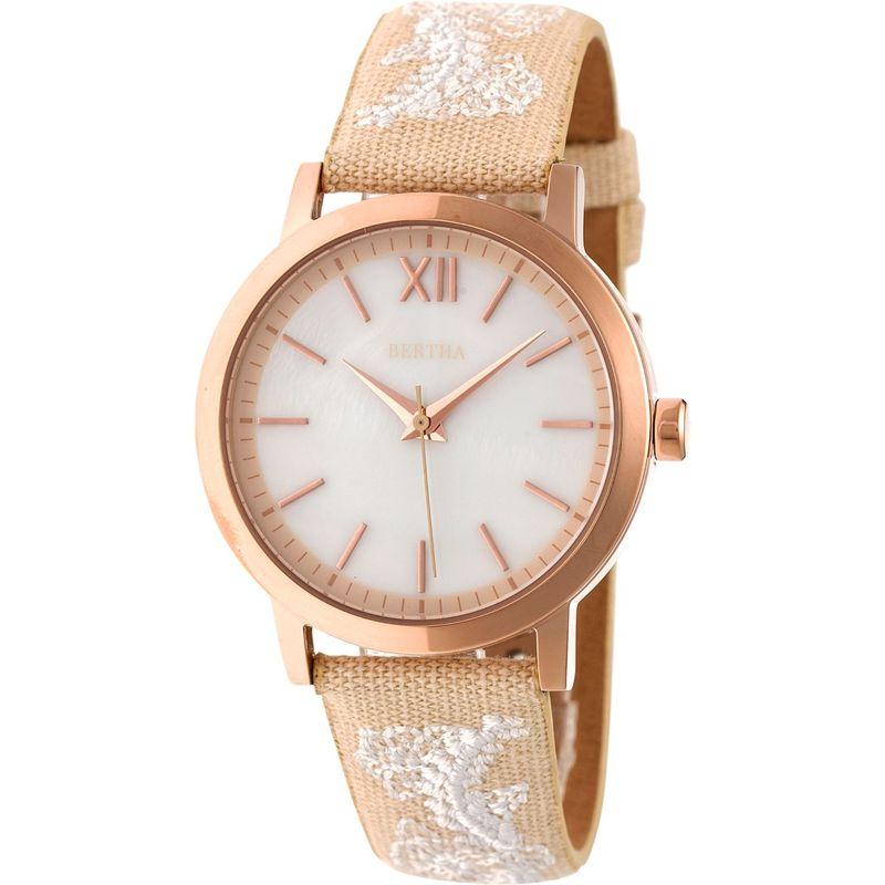 ベルサ メンズ 腕時計 アクセサリー Penelope Mother-of-Pearl Women's Watch Cream