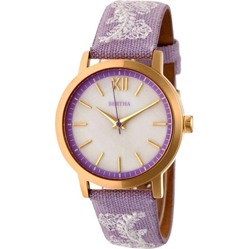 """ベルサ メンズ 腕時計 アクセサリー Penelope Mother-of-Pearl Women""""s Watch Lavender"""
