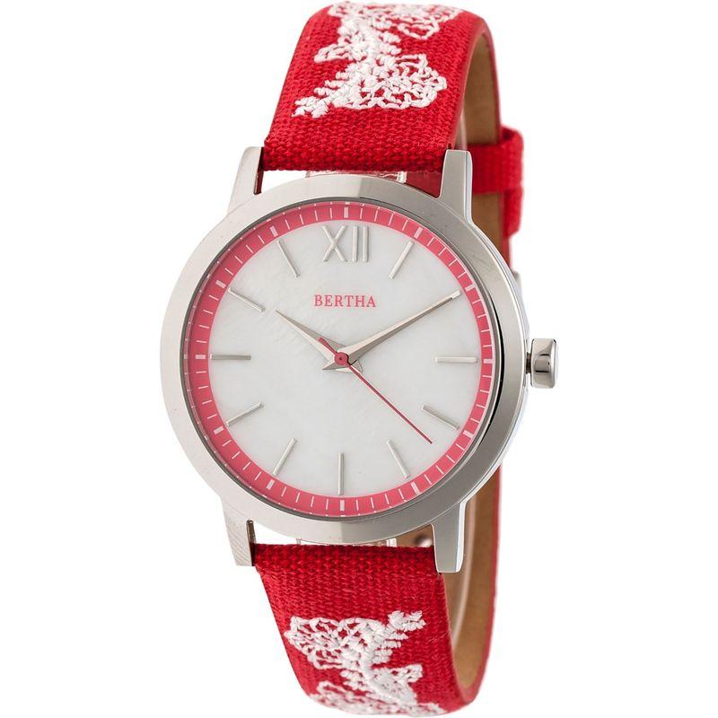 ベルサ メンズ 腕時計 アクセサリー Penelope Mother-of-Pearl Women's Watch Red