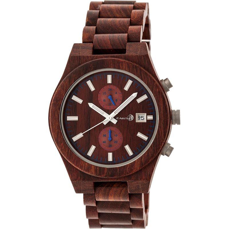 アースウッド メンズ 腕時計 アクセサリー Castillo Watch Red