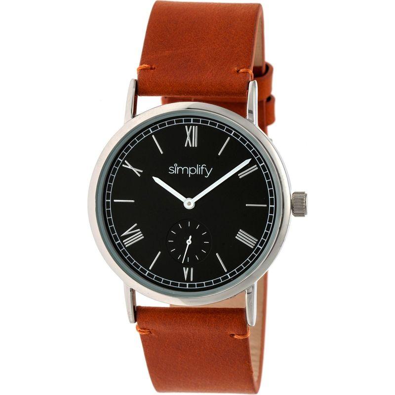 シンプリファイ メンズ 腕時計 アクセサリー The 5100 Watch Camel/Black