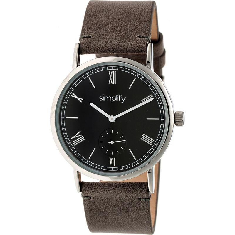 シンプリファイ メンズ 腕時計 アクセサリー The 5100 Watch Charcoal/Black