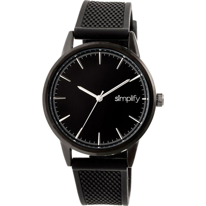 シンプリファイ メンズ 腕時計 アクセサリー The 5200 Watch Black