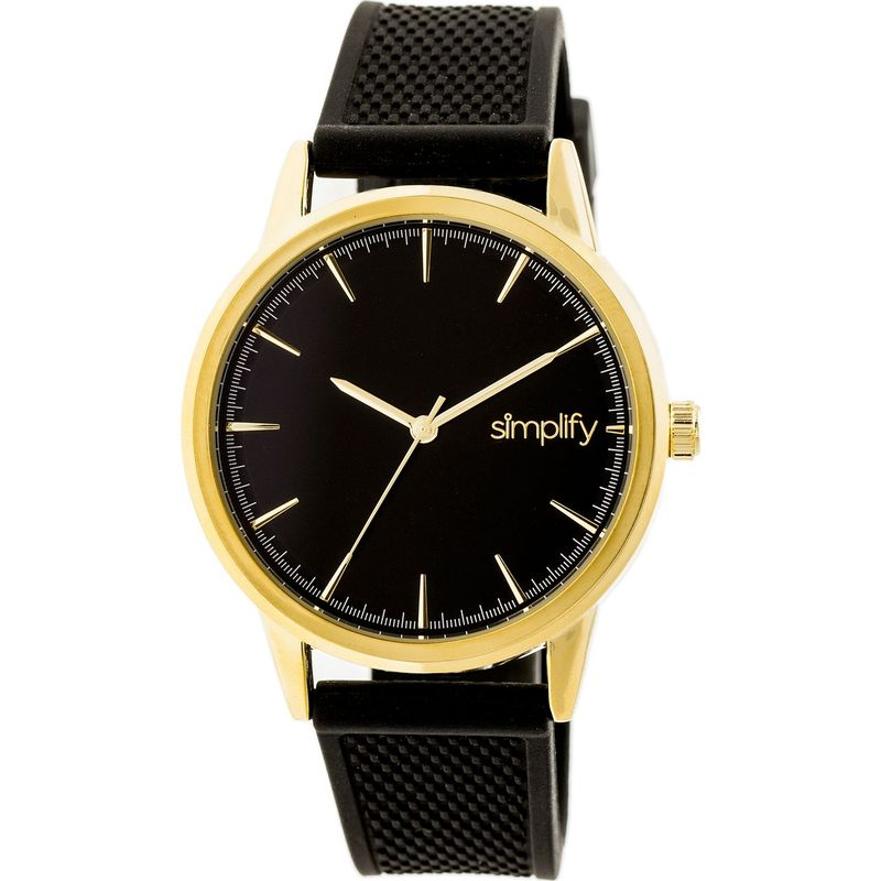 シンプリファイ メンズ 腕時計 アクセサリー The 5200 Watch Gold/Black