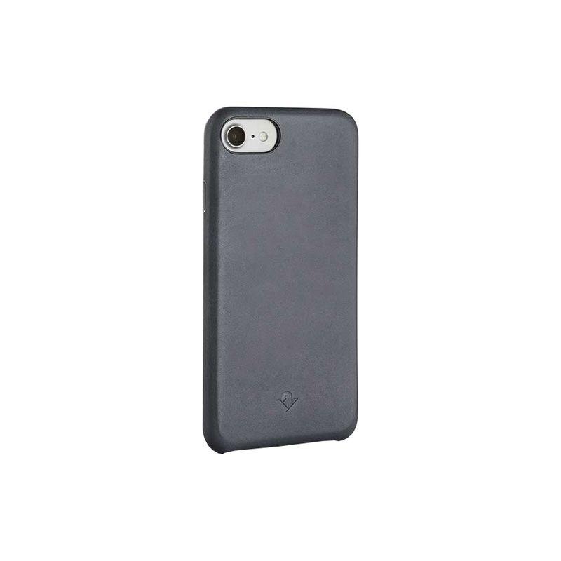 トゥエルブサウス メンズ PC・モバイルギア アクセサリー Relaxed Slim Leather Case for iPhone 6/7/8 Earl Grey