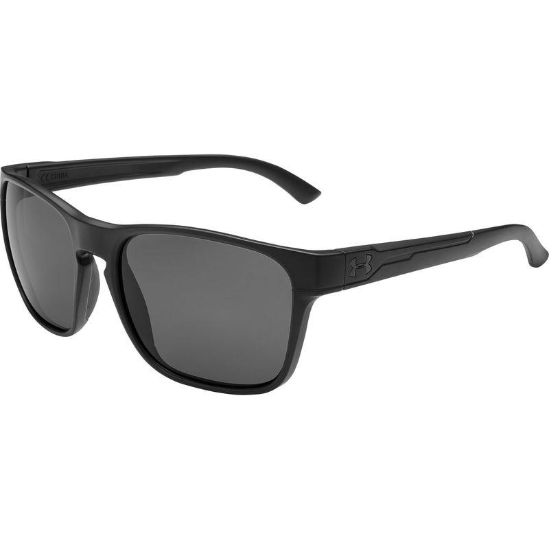 アンダーアーマー メンズ サングラス・アイウェア アクセサリー Glimpse Sunglasses Matte Black/Gray Lens
