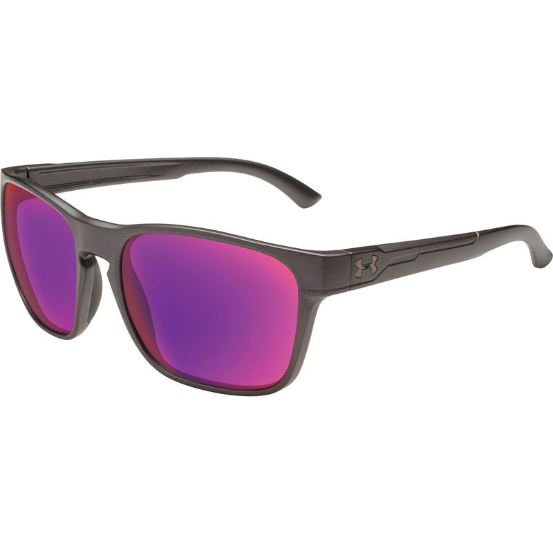 アンダーアーマー メンズ サングラス・アイウェア アクセサリー Glimpse Sunglasses Satin Carbon/Infrared Multiflection Lens