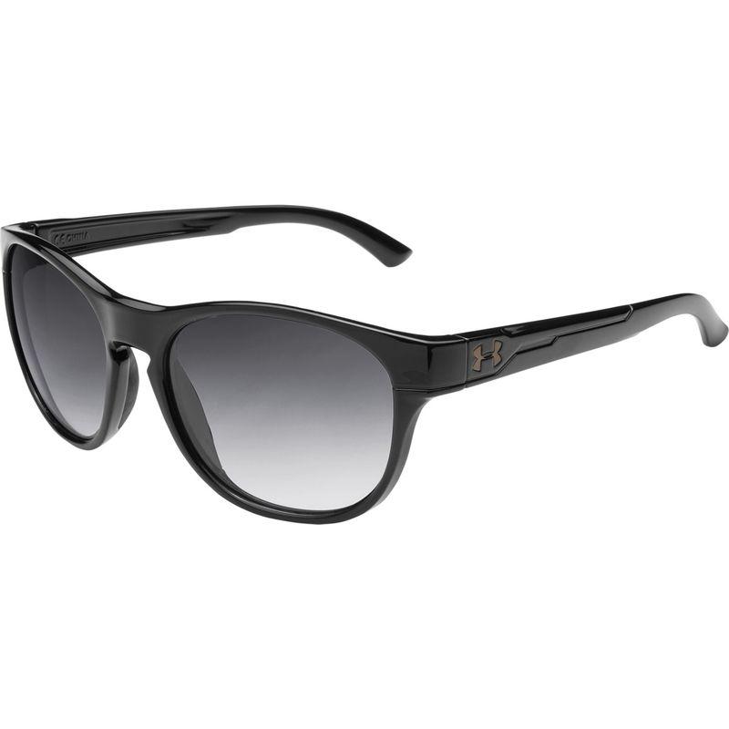 アンダーアーマー メンズ サングラス・アイウェア アクセサリー Glimpse Rl Sunglasses Gloss Black/Gray Gradient