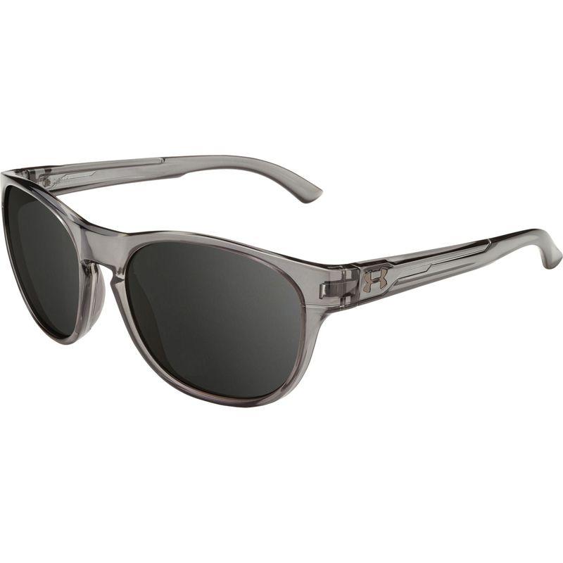 アンダーアーマー メンズ サングラス・アイウェア アクセサリー Glimpse Rl Sunglasses Gloss Crystal Smoke/Gray Multiflection Lens
