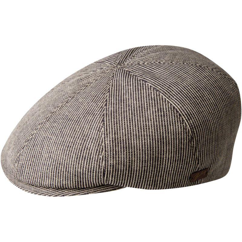ベーリー オブ ハリウッド メンズ 帽子 アクセサリー Redford Hat XXL - Cream/Burnt Stripe