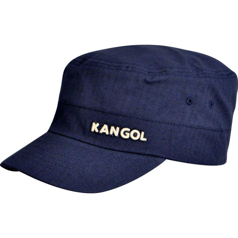 カンゴール メンズ 帽子 アクセサリー Ripstop Army Cap S/M - Navy